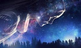 Тайна мира космоса стоковые изображения rf