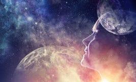 Тайна мира космоса стоковые фотографии rf