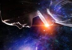 Тайна мира космоса стоковое изображение rf