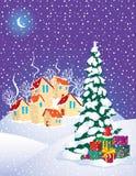 Тайна рождества иллюстрация вектора