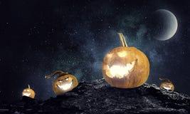 Тайна тыквы Джека Мультимедиа стоковое изображение