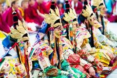 Тайна Cham, Непал стоковая фотография