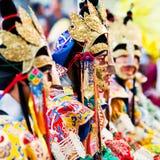 Тайна Cham, Непал стоковое изображение