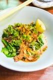 Тайская лапша с свининой Стоковое Изображение RF