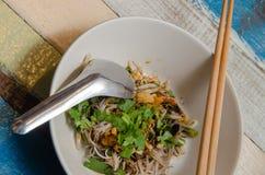 Тайская лапша шлюпки Стоковые Фотографии RF