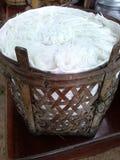 Тайская лапша Стоковая Фотография