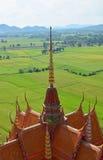 Тайская архитектура на крыше виска Стоковые Изображения RF