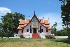 Тайская архитектура, древний храм Стоковые Фото