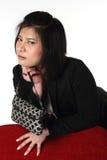 Тайская бизнес-леди стоковое фото