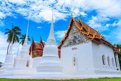 Тайская буддийская церковь Стоковые Изображения