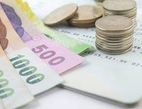 Тайская ванна денег Стоковое Изображение RF