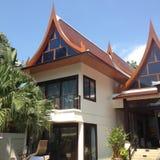 Тайская вилла стиля Стоковое Изображение