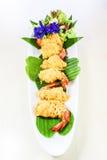 Тайская вызванная еда rhoom Шримса или la-tiang шримса Стоковая Фотография