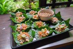 Тайская вызванная закуска Стоковое Изображение RF