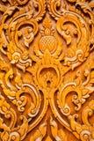 Тайская высекая древесина Стоковые Изображения RF
