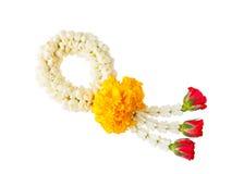 Тайская гирлянда цветка стиля Стоковое Фото