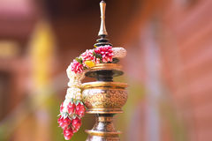 Тайская гирлянда handmade Таиланда стоковое фото