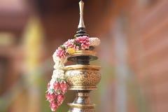 Тайская гирлянда handmade Таиланда стоковые изображения rf