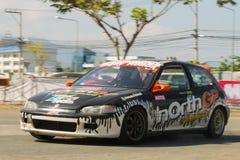 Тайская гоночная машина водителя Стоковые Фото