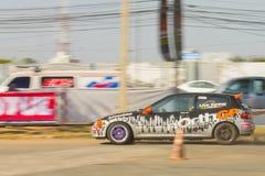 Тайская гоночная машина водителя Стоковые Изображения