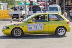 Тайская гоночная машина водителя Стоковая Фотография
