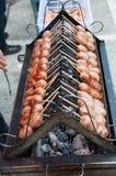 Тайская горячая сосиска Стоковые Изображения