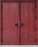 Тайская дверь типа Стоковое фото RF