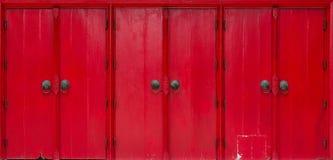 Тайская дверь типа Стоковая Фотография