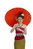 Тайская девушка Стоковые Изображения