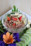 Тайская еда, старый тип lemongrass и chili relish Стоковые Фото