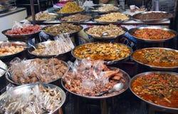 Тайская еда улицы стоковое фото