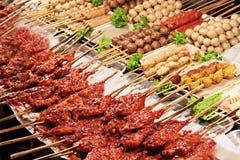 Тайская еда улицы стоковое изображение