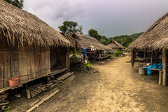 Тайская деревня сына Mai, Таиланда стоковые фото
