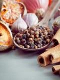 Тайская еда варя ингридиенты Стоковая Фотография