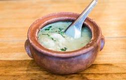 Тайская еда, карри Стоковая Фотография