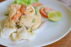 Тайская еда очень вкусная Стоковое Фото