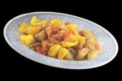 Тайская еда сплавливания Стоковые Изображения RF
