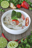 Тайская еда, тайская кухня, тайские травы, ингридиент Aian Стоковое Изображение