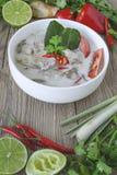 Тайская еда, тайская кухня, тайские травы, ингридиент Aian Стоковая Фотография