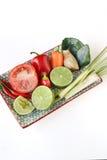 Тайская еда, тайская кухня, тайские травы, ингридиент Aian Стоковое фото RF