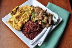 Тайская еда Стоковые Изображения RF