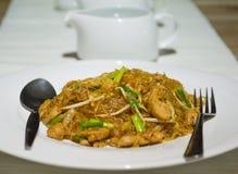 Тайская еда стоковое фото rf