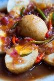 Тайская еда Akelokeki стоковое изображение rf