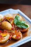 Тайская еда Akelokeki стоковая фотография