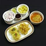 Тайская еда, kai soi khao Стоковое Изображение RF