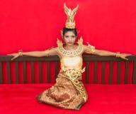 Тайская дама Стоковые Изображения RF