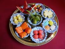 Тайская закуска смешивания еды Стоковое Изображение RF