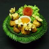 Тайская закуска, yuang toong ngern Стоковые Фото
