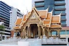 Тайская зала стиля Стоковая Фотография