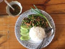 Тайская известная еда стоковое фото rf